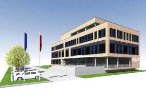 Büro- und Ausstellungsgebäude in Berlin