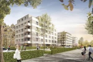 Wohnungsanlage in Potsdam