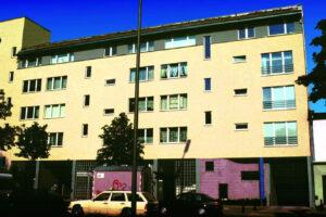 Wohnungsbau mit Tiefgarage in der Ollenhauerstraße Berlin für GESO-Bau