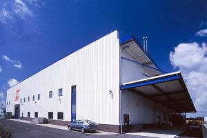 Produktionshalle ORAFOL in Oranienburg