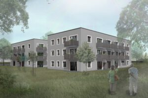 Mehrfamilienhäuser Rudower Straße in Berlin