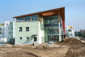 Neubau einer Kindertagesstätte in der Parksiedlung Spruch